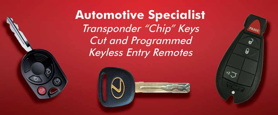 High Security car key locksmith